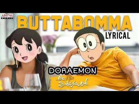#alavaikunthapurramuloo-full-movie---buttabomma-full-video-song-(4k)-allu-arjun-thaman-doraemon