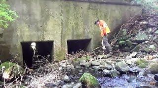 Improving A Blocked Culvert Pipe