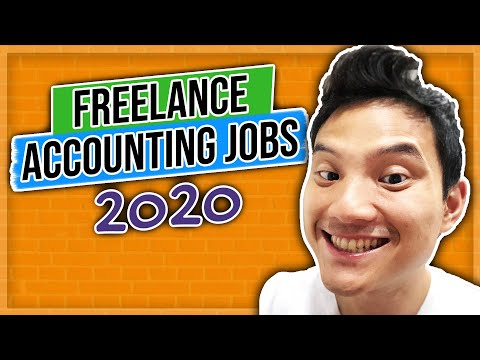 Freelance Accounting Jobs 2020 (Work From Home With Little To No Budget)