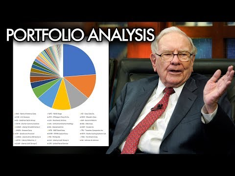 A Breakdown of Warren Buffett's Investment Portfolio