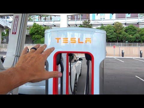 Vegas V3 Tesla Supercharger ISN'T Worth the Time.