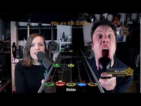 Leo Moracchioli ft. Mary Spender - Sultans of Swing Metal Cover [Custom Chart Preview]