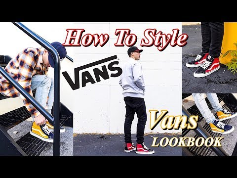 HOW TO STYLE VANS SNEAKERS - VANS LOOKBOOK - SK8 HI - OLD SKOOL - ERA - AUTHENTICиз YouTube · Длительность: 7 мин22 с