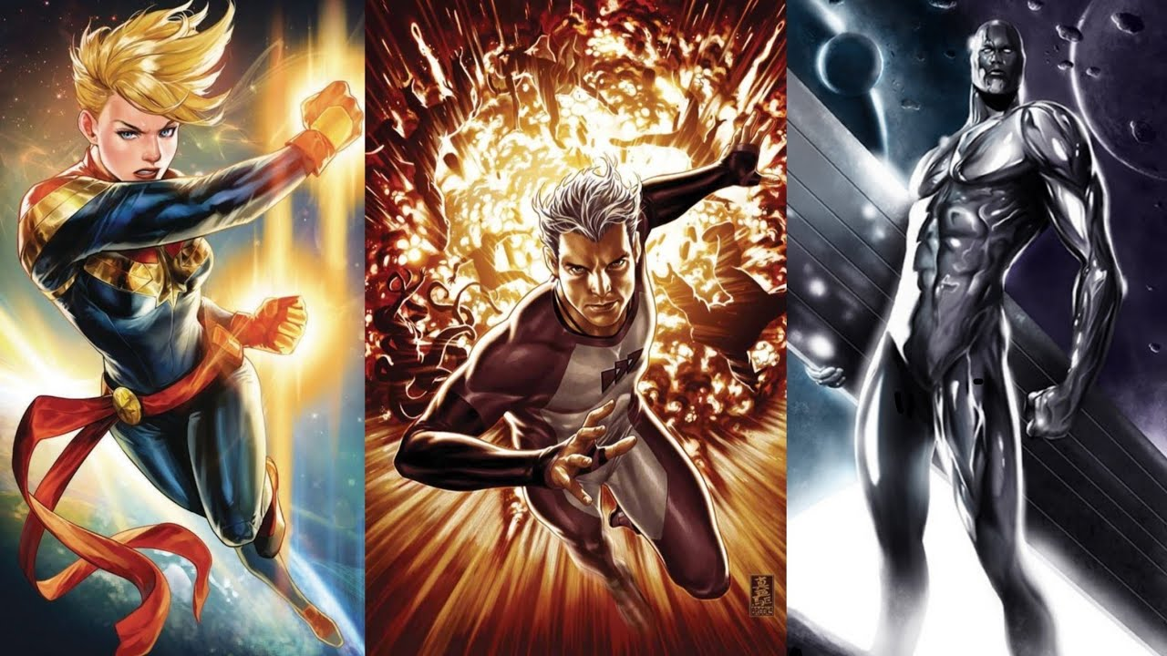 The 15 Fastest Characters In The Marvel Universe || SuperMedia