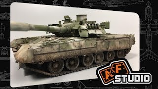 Т-80У - окончание работы [2]