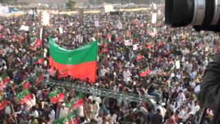 View of the Biggest Jalsa in Pakistan