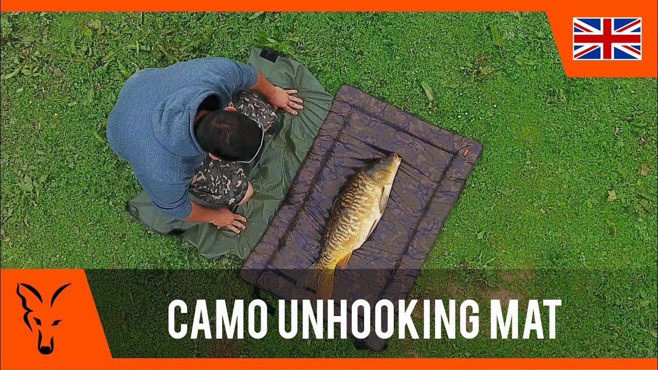 Camo DPM Folding Carp Coarse Fishing Unhooking Beanie Landing Mat Sling Forceps