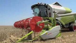 2009 Claas harvest machinery launches in Hungary