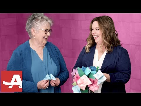 Melissa McCarthy & Her Mom Read Their Fortunes | AARP