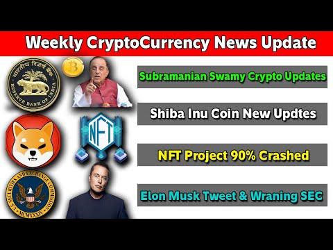CRYPTOCURRENCY NEWS  WEEKLY UPDATES TAMIL | SHIBA INU UPDATES | ELON MUSK TWEET PROBLEM| NFT CRASHED