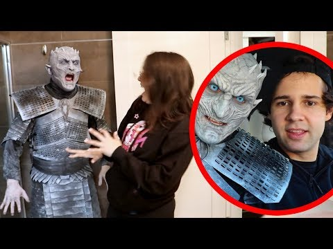 Transforming into the Night King