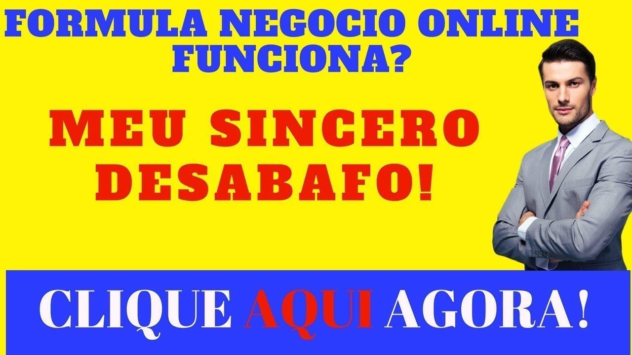 FORMULA NEGOCIO ONLINE ALEX! FUNCIONA?