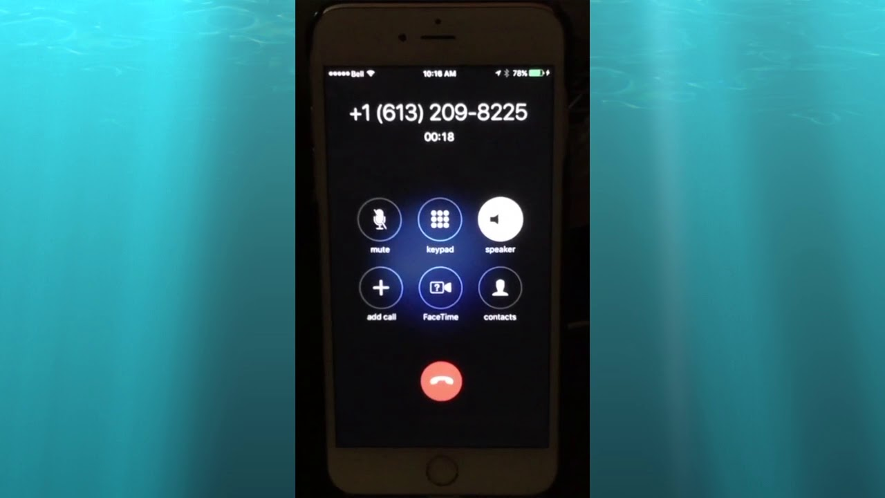 CRA Arrest Warrant Telephone Scam from +1 613-209-8225