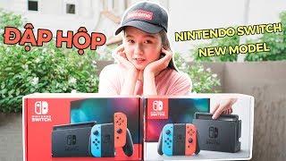 Đập hộp Nintendo Switch phiên bản 2019 New Model: So với bản cũ Old Model