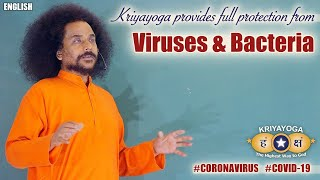 Kriyayoga Provides Full Protection from Viruses & Bacteria (English with Subtitles)