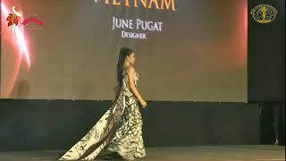 Hoa hậu Ngân Anh tự tin diễn Dạ hội và Bikini tại Hoa hậu Liên lục địa 2018 (Miss Intercontinental)