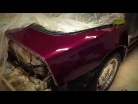 C4 Corvette Restored By Exclusive Customs Step By Step Proccess Youtube
