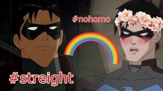 Nightwing - My whole family thinks I'm gay (Parody/Crack)