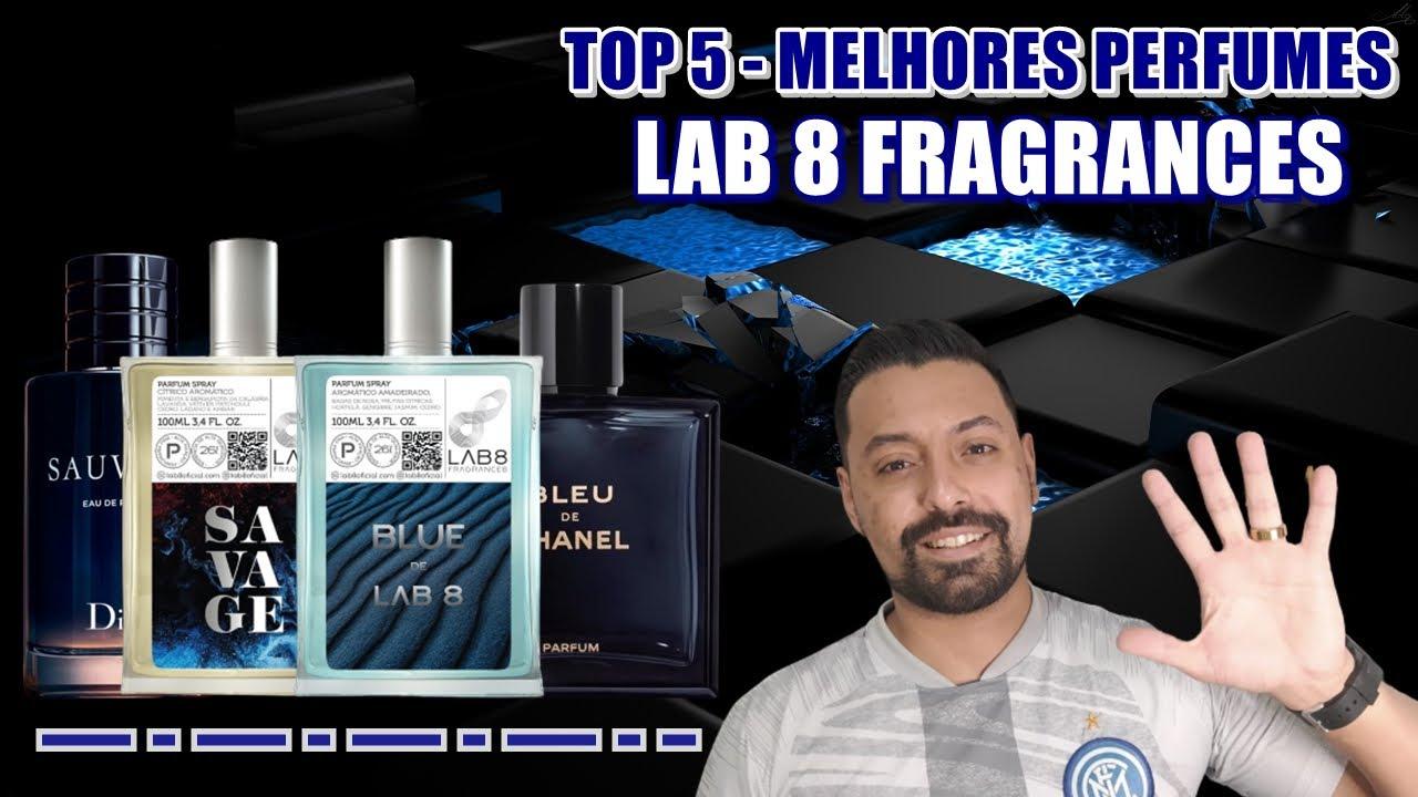 TOP 5 - MELHORES PERFUMES DA LAB 8 FRAGRANCES !!