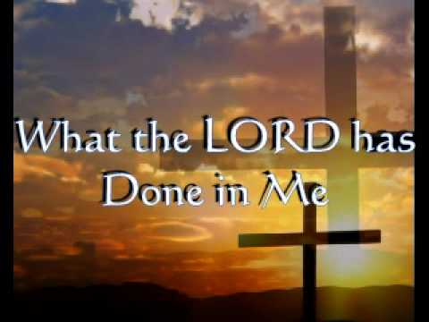 Hillsong - What The Lord Has Done In Me Lyrics | MetroLyrics
