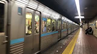 名古屋市営地下鉄鶴舞線3000形3120H発車シーン