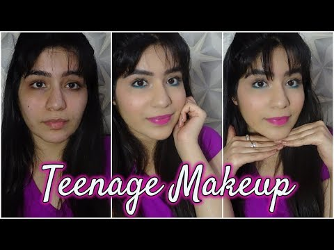 Teenage Makeup Tutorial India || Makeup look for teenager girls | teenage girls | Arushi Pahwa
