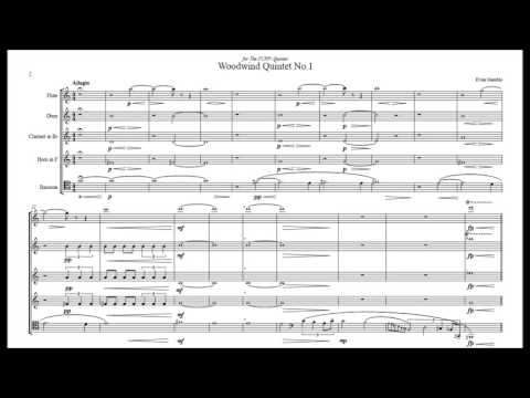 Woodwind Quintet No. 1 by Evan Duran Gamble