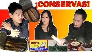 Coreanos Adictos a Conservas Españolas | Con Sebomi Jang
