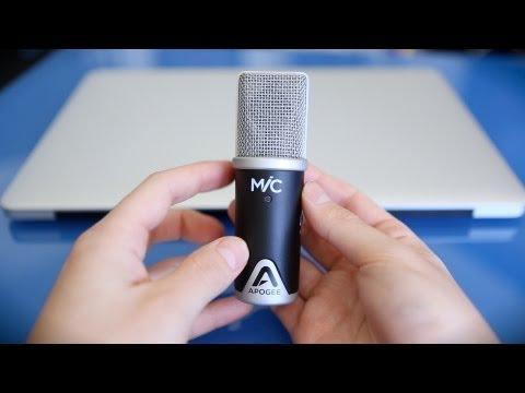 Apogee MiC Review & Recording Demo