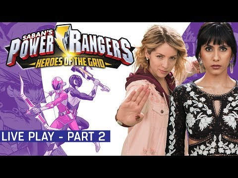 Power Rangers Heroes Of The Grid Live Play Part 2 w/ Strawburry17 and Cristina Vee!