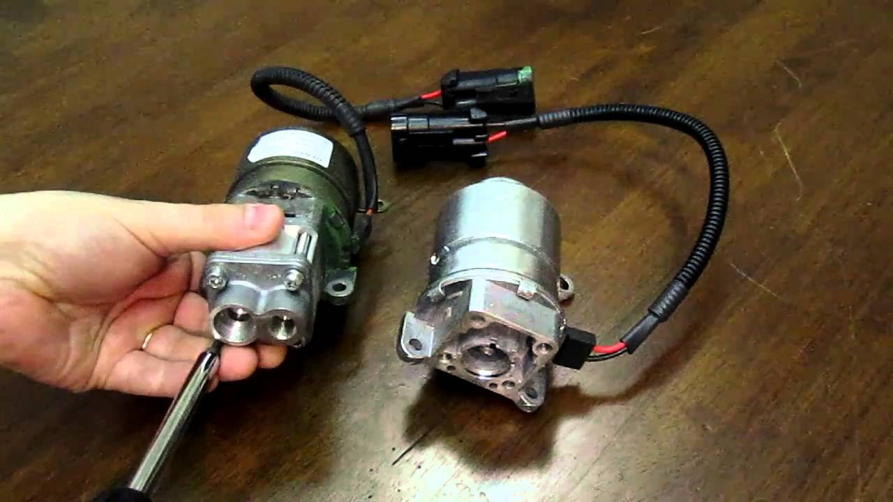 How to change the electric motor in a F1 hydraulic pump