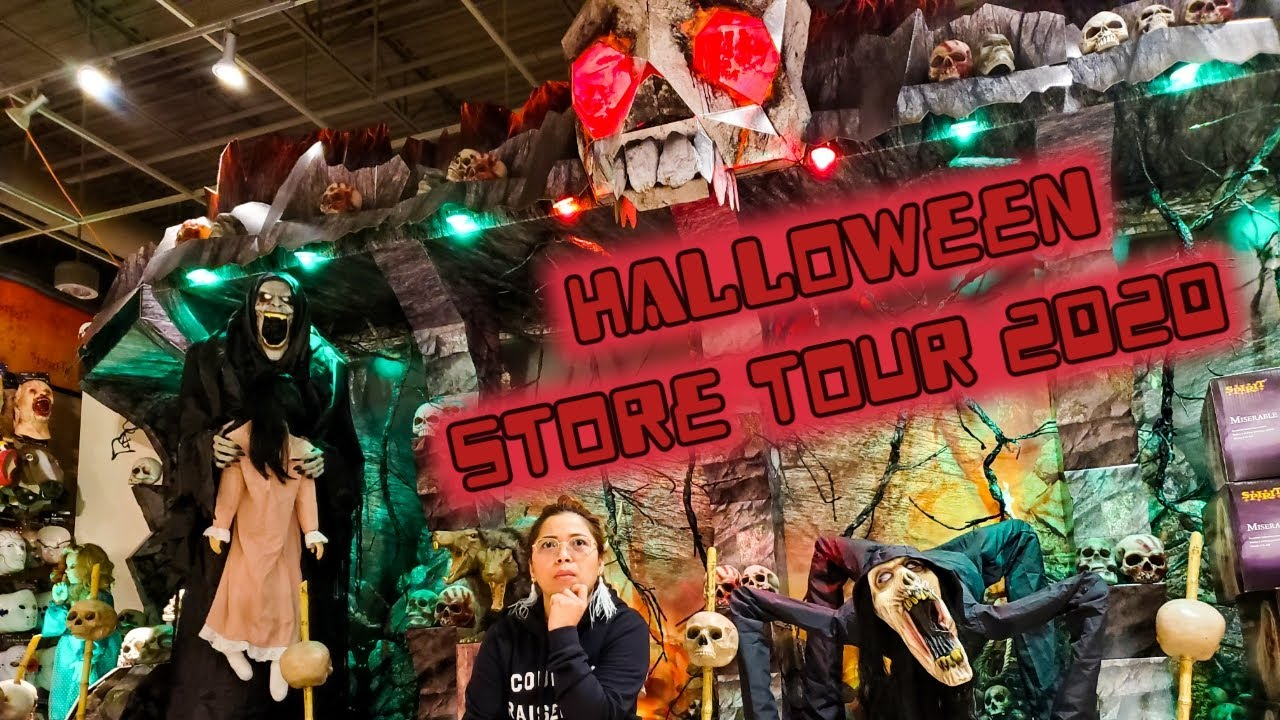 Spirit Halloween Store Tour 2020 Regina Lifeincanada Halloween Bicolanaako Costumes Youtube