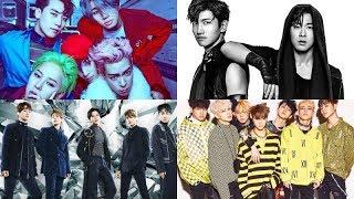 BIGBANG, TVXQ, SHINee, iKON, And Others Make 2017 List Of Top 50 Co...