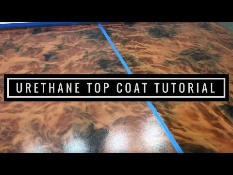 Leggari's WB Urethane Top Coat Tutorial