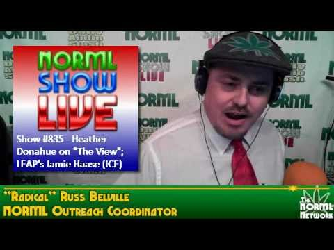 NORML SHOW LIVE #835 - Jamie Haase, former Border Patrol / ICE Special Agent