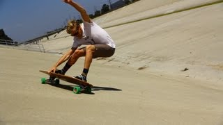 Landsurfing At Its Finest | Surfy Carvy Skate | Fish Video Review