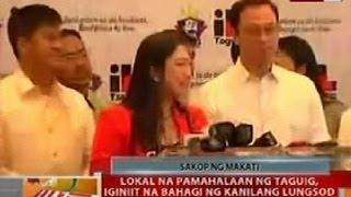 BT Lokal na pamahalaan ng Taguig iginiit na bahagi ng lungsod ang Fort Bonifacio