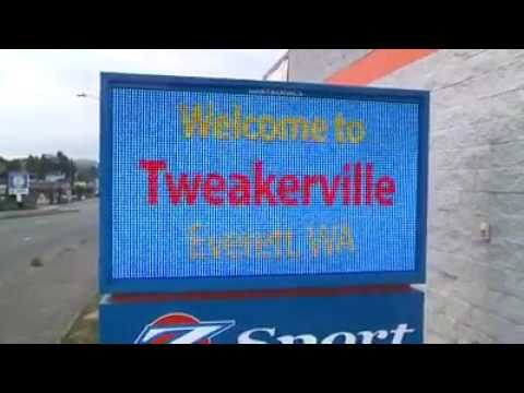 Welcome to tweakerville