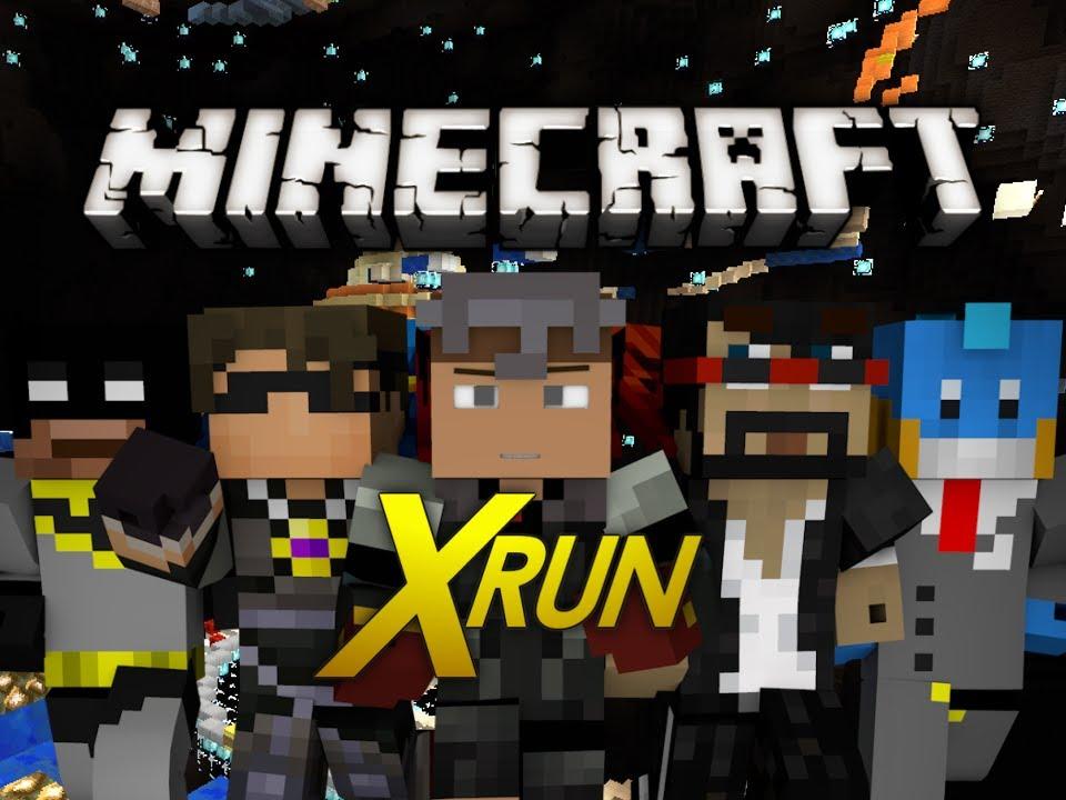 minecraft mini game xrun w skydoesminecraft
