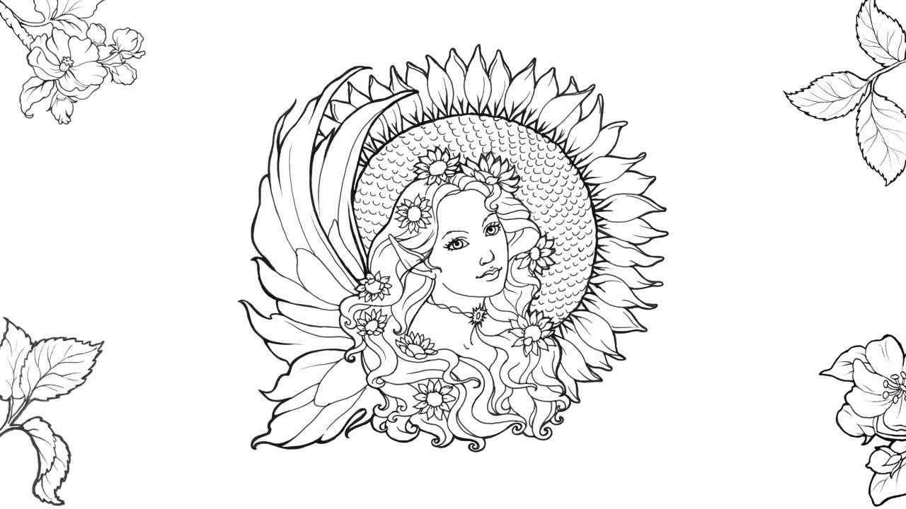 youtube coloring pages for adults - photo#18