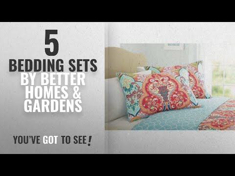 Top 10 Better Homes & Gardens Bedding Sets [2018]: Better Homes and Gardens Quilt Collection,