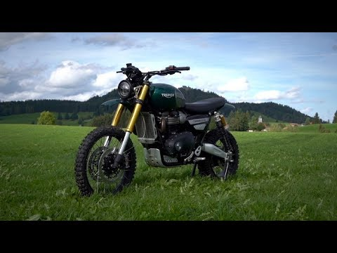 Guy Martin's Great Escape - Scrambler 1200 XE Bike Build