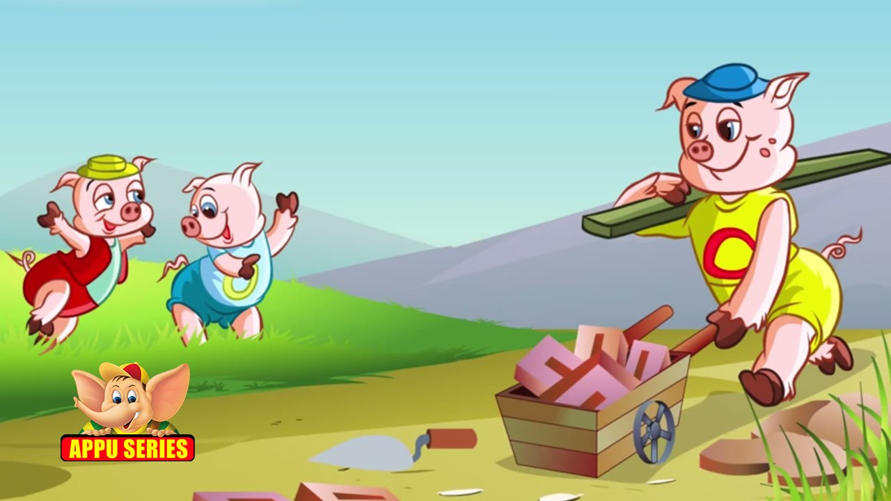 the three little pigs The three little pigs refuse to be scared by a hungry wolf -- and get a crash course in construction -- in this classic anthology watch trailers & learn more.