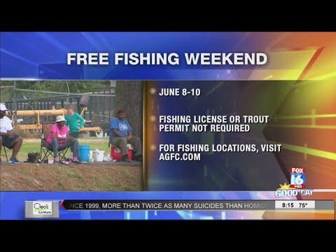 Free Fishing Weekend 2018