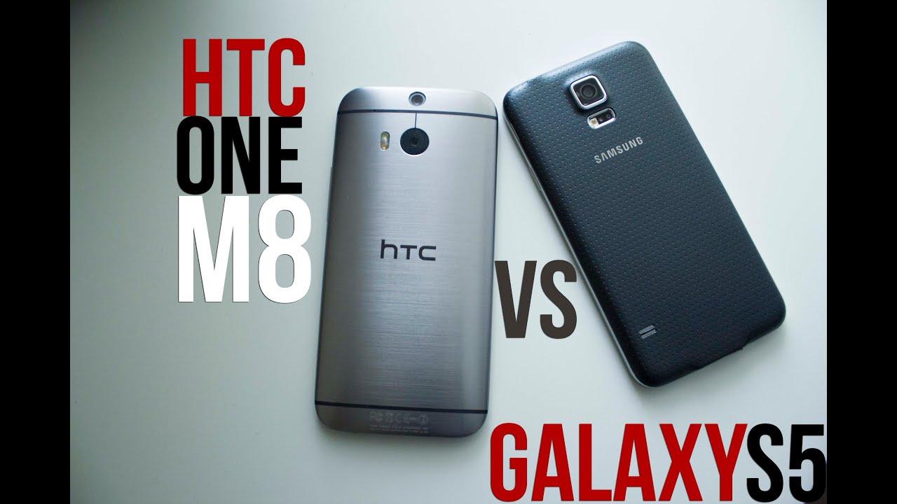 Samsung Galaxy S5 vs HTC One (M8) Hands On Comparison ...Htc One Max Vs Galaxy S5