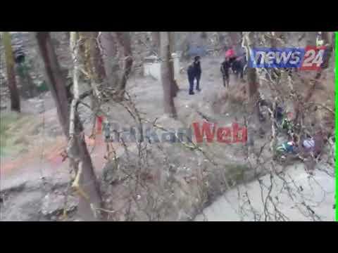 Aksidenti në Berat, pamje nga vendngjarja