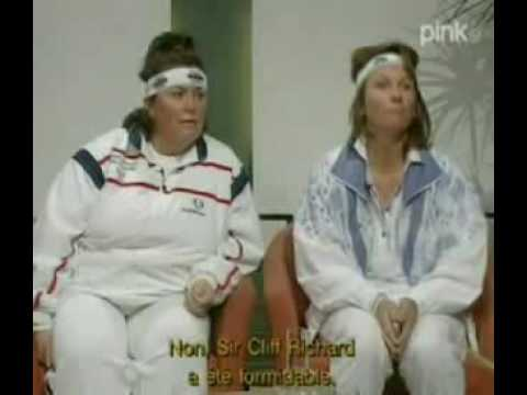 French & Saunders   Tennis at Wimbledon