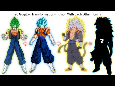 20 Gogito's Transformations Fusion With Each Other Forms   CharlieCaliph