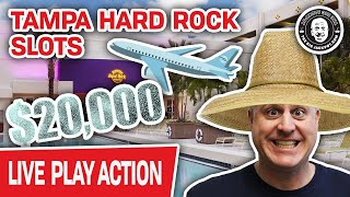 🔴 $20,000 on Tampa Hard Rock Slots 🎰 LIVE IN THE CASINO!