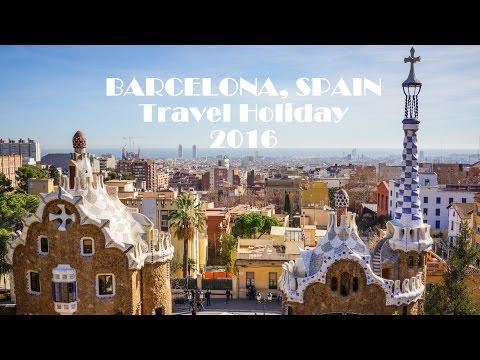 BARCELONA, SPAIN 2016 Travel Holiday - GoPro Hero 4 Session